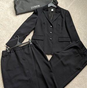 JCrew 3-piece Wool Gabardine Suit